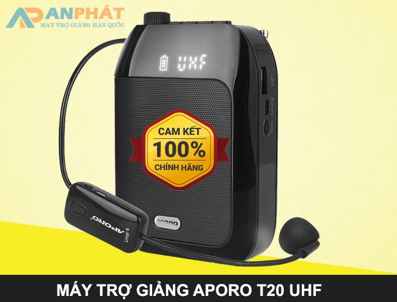 may-tro-giang-khong-day-aporo-t20-uhf-chinh-hang