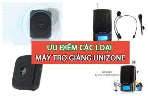 So sánh ưu điểm các loại máy trợ giảng Unizone Hàn Quốc