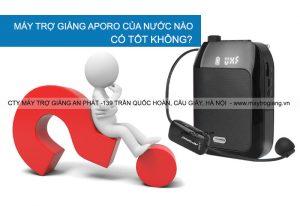 may-tro-giang-aporo-co-tot-khong-cua-nuoc-nao-san-xuat
