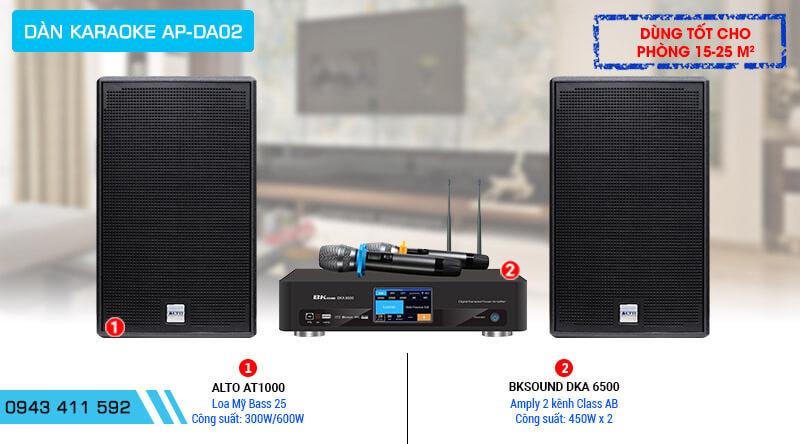Dàn Karaoke gia đình chính hãng AP-DA02 của Mỹ