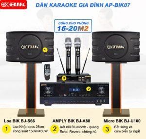 Dàn loa Karaoke gia đình AP-BIK07 Nhật Bản