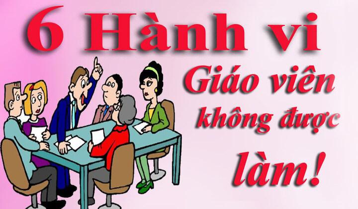 6-dieu-giao-vien-khong-duoc-lam-gv-nen-biet